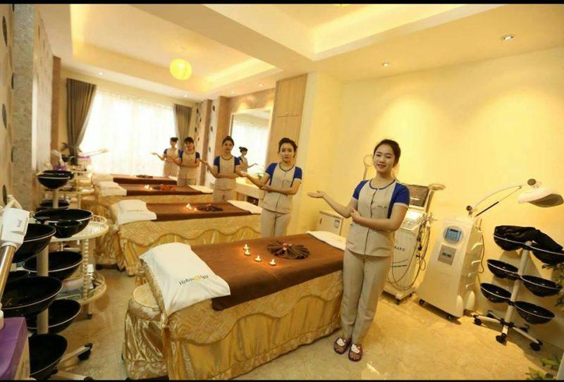 May Đồng Phục Nhân Viên Massage/Spa , Thương Hiệu Tạo Nên